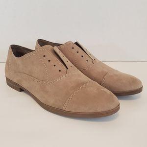 Dolce Vita Taupe Amalia Oxford Loafers Size 8